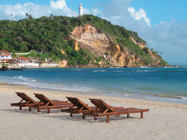 Morro de Sao Paulo beach is one of the most beautiful beaches within Salvador da Bahia.